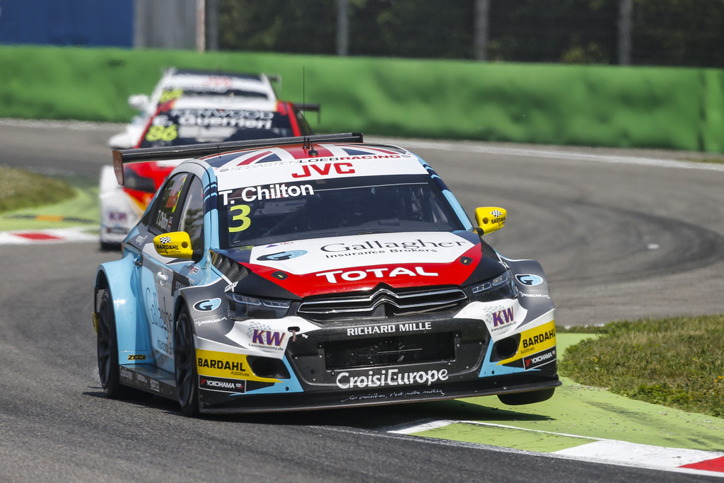 03 CHILTON Tom (GBR) Citroen C-Elysee team Sébastien Loeb Racing action during the 2017 FIA WTCC World Touring Car Race of Italy at Monza, from April 28 to 30  - Photo Francois Flamand / DPPI