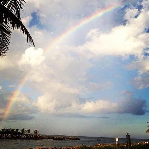 Jupiter Inlet Rainbow