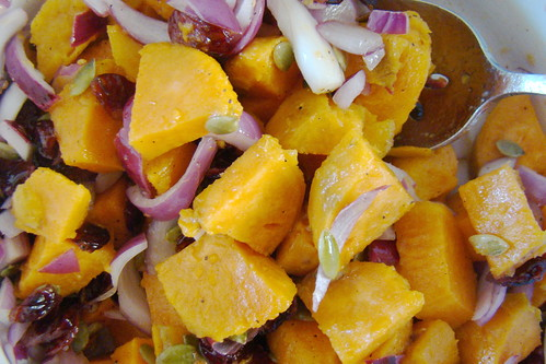 Sweet Potato Salad with Dried Cherries
