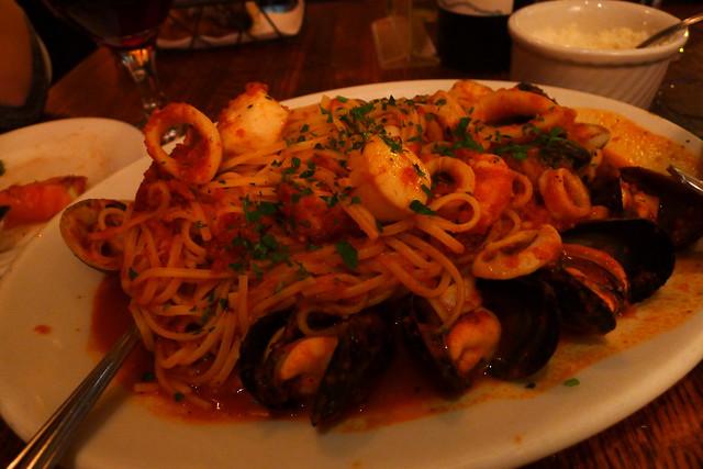 frutti di mare with fra diavolo sauce