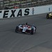 Marco Andretti leads Tony Kanaan into Turn 1
