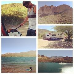Had a great time camping at the lake! :)