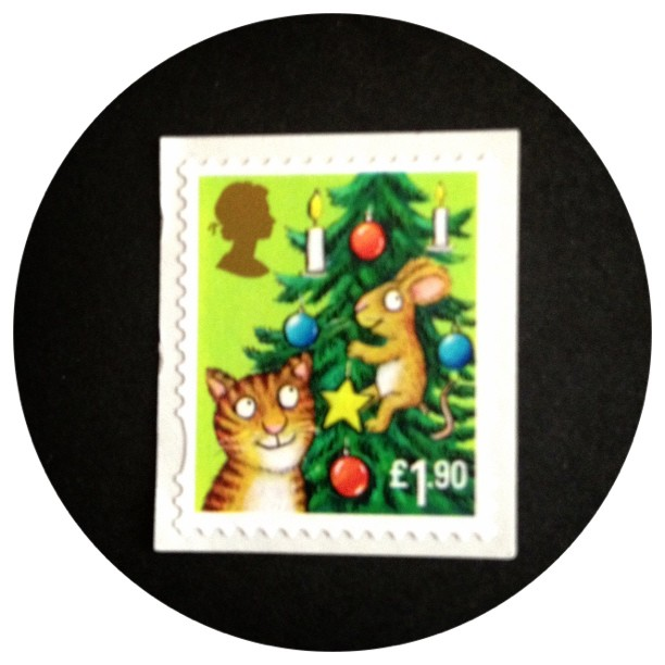 Day 15: Cat. I've decided to stop here with this stamp challenge as the 2nd half I'm going to have to pull all my letters out for to find one that fits. I'm too unwell for it right now :( which is why I haven't blogged on s&b either. #stamp #postalsociety