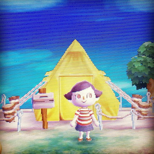 Yay, I started Animal Crossing! So nice to be back.