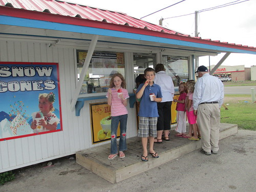 June 21 2013 Snow cones