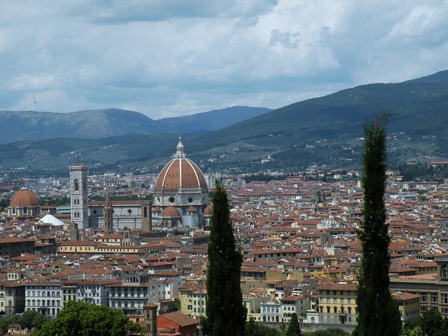 Florence-vue de San Miniato al monte