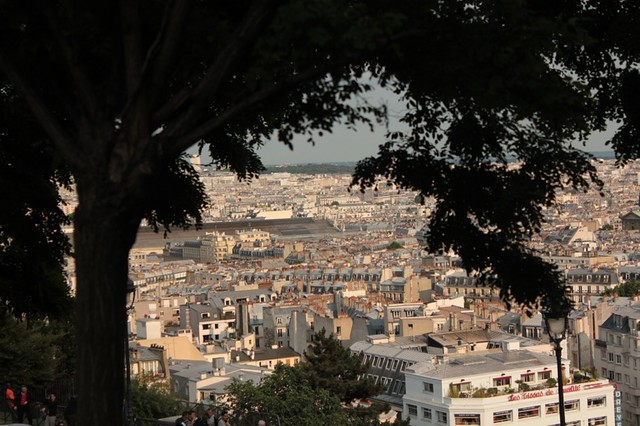Montmartre: Parigi dalla scalinata del Sacre Coeur