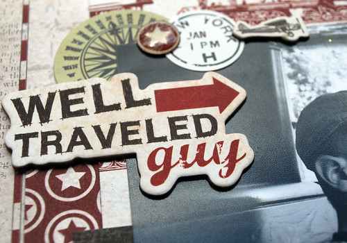 Well Traveled Close Up