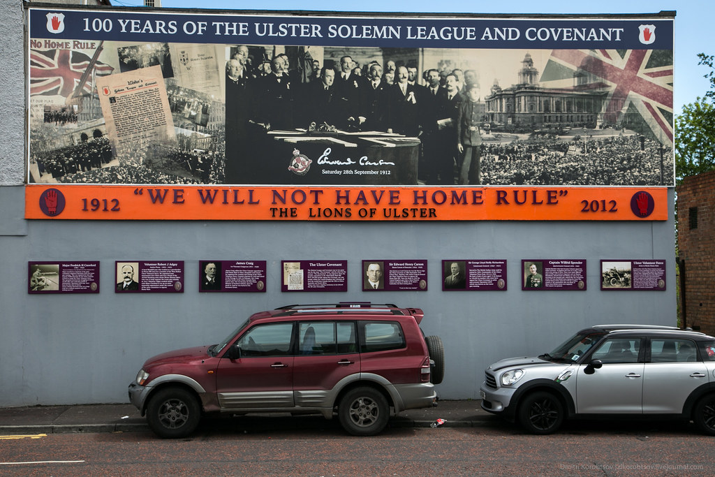 '100 years of the Uster Solemn League and Covenant' mural