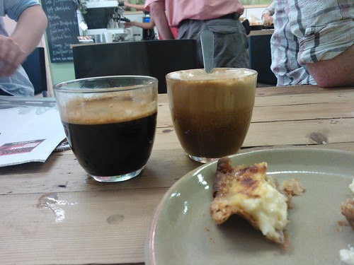 Americano (and a horribly curdled soy flat white) #0011