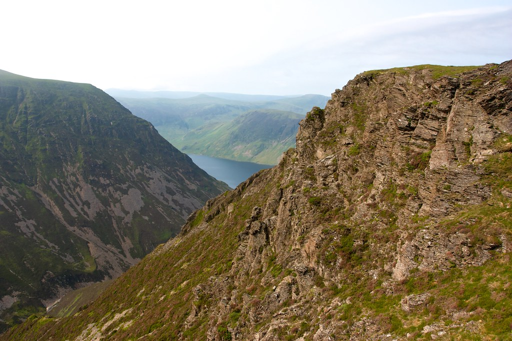 Gasgale Crags to Crummock Water