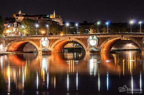 El Pont Neuf (Puente Nuevo) de Toulouse
