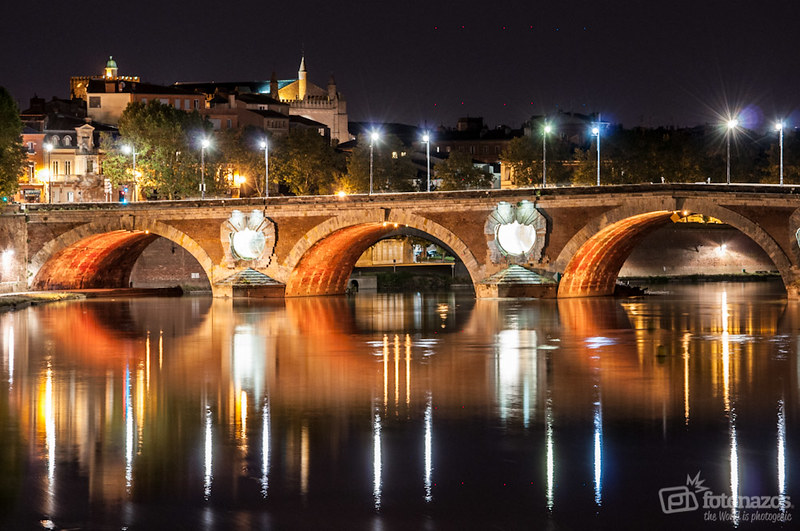 Fotos nocturnas de Toulouse