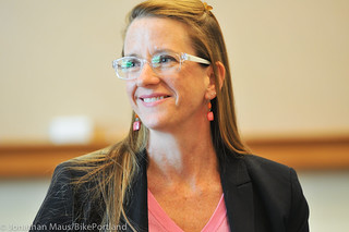 PBOT Director Leah Treat