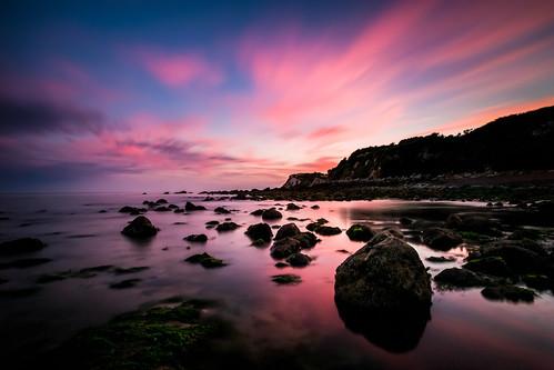longexposure sunset cloud reflection clouds canon rocks day shadows cloudy pinksunset 6d longshutterspeed canon6d haida10stop