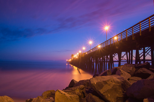 california longexposure sunset sea beach sunrise pier mar oceanside bluehour flickrandroidapp:filter=none