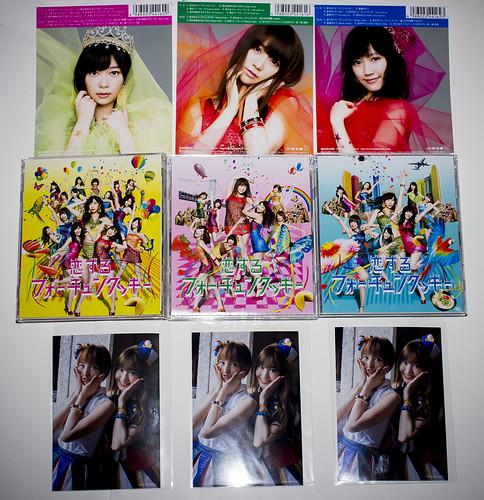AKB48 - 恋するフォーチュンクッキー (Type-A, Type-K-, Type-B) (J-POP 365 - August 30, 2013) - 無料写真検索fotoq