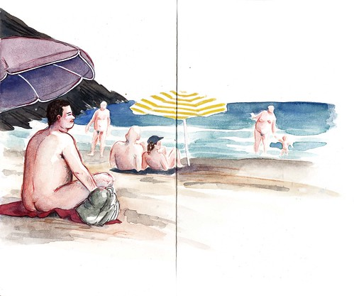 Playa naturista Das Adegas (Odeceixe Sur)
