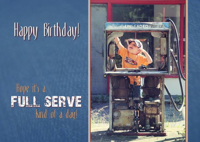 Birthday Card - Full Serve