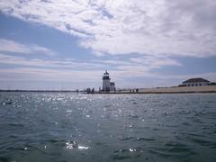 Arrival in Nantucket Harbor