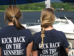 Kick Back On The Kennebec River