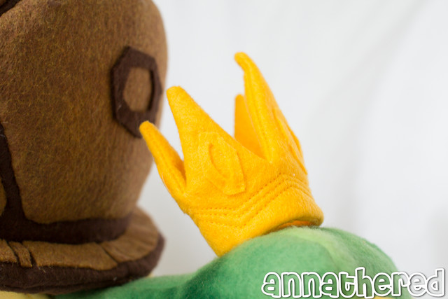 stuffed stuff: Mr. Pokeylope from Psychonauts
