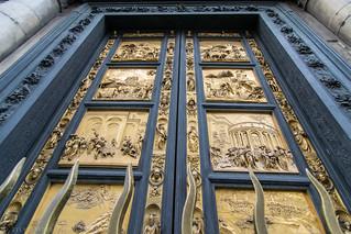 Gates of Paradise (1452) by Lorenzo Ghiberti