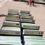 Brochures and Maps at Chateau de Villandry
