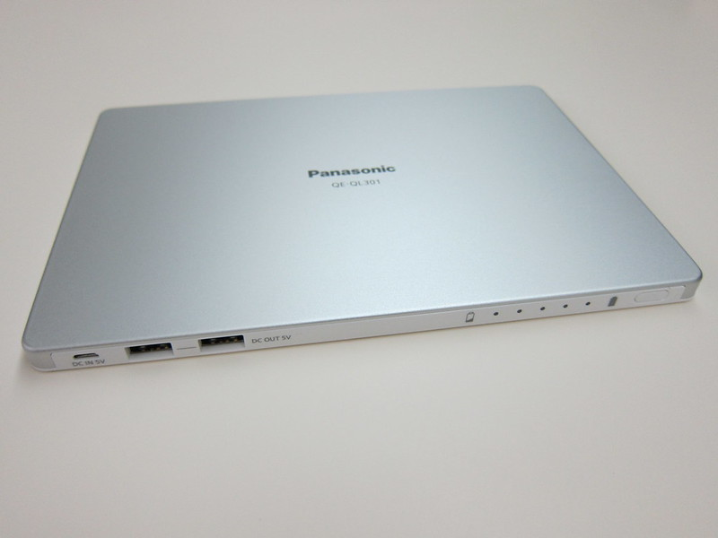 Panasonic - USB Portable Power 10,260mAh (QE-QL301)