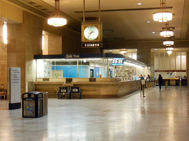 Amtrak Ticket Booth Flickr Photo Sharing