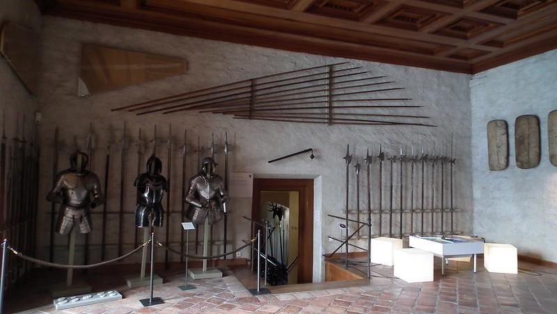 Oberhofen castle amoury