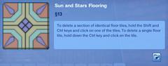 Sun and Stars Flooring