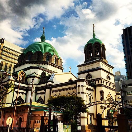 ニコライ堂にも、入ってみました。 #nikolaihall  Holy Resurrection Cathedral  In Tokyo