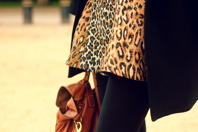 Antipodium Leopard Skirt