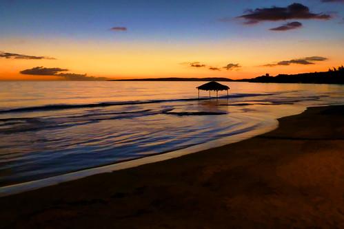 sunset water landscape puertorico artsy simplify