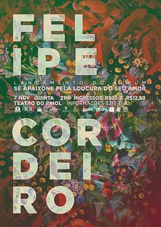 cartaz * Felipe Cordeiro