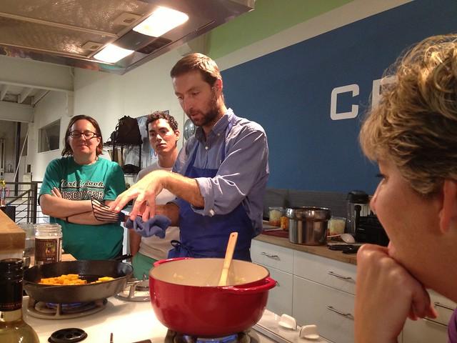 Chef Jaret's Cooking class