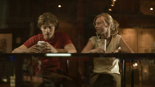 "The first date: ""Don't let it get you down. The world is full of women."" (Szene aus '13 Stufen')"