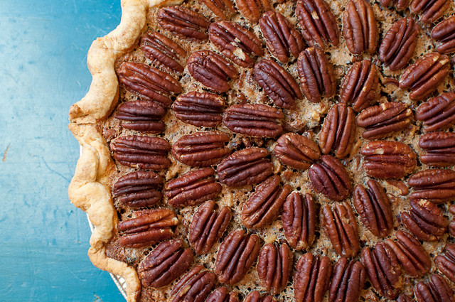 Sweet Lauren Caramel Bourbon Pecan Pie