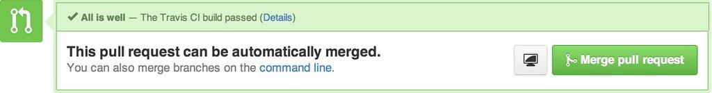 Good to merge - the Travis build passed