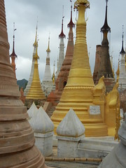 Inle Lake - Indein Temple complex 7