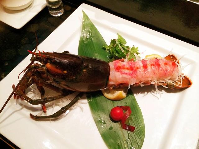 Lobster Sashimi