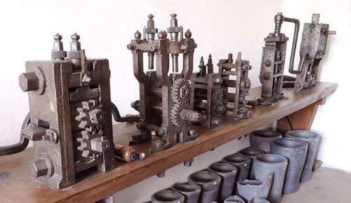 Cesky Krumlov minting machines