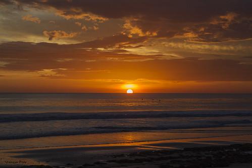 ocean sunset sky cloud sun beach water wave pacificocean nicaragua santana 2470l centralamerica coth fantasticnature canonef2470mmf28 canonistas platinumheartaward canoneos7d coth5 sunrays5