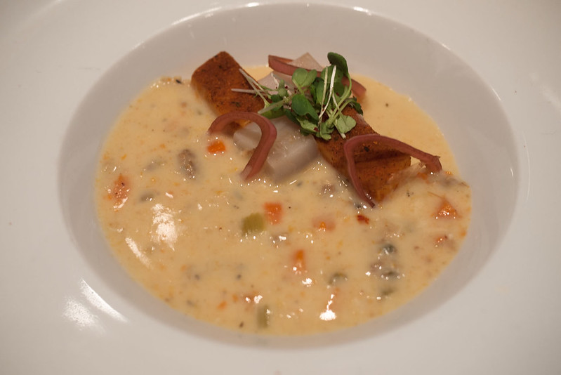 Catch & The Oyster Bar - Salted (Black) Cod & Humboldt Chorizo Chowder @ Chowder Chowdown