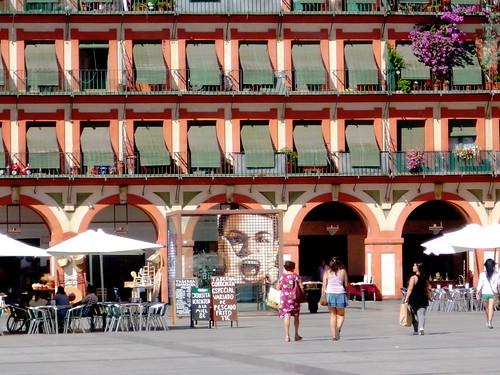 Cordoba Plaza Corredera Ausgang zur Taberna Salinas