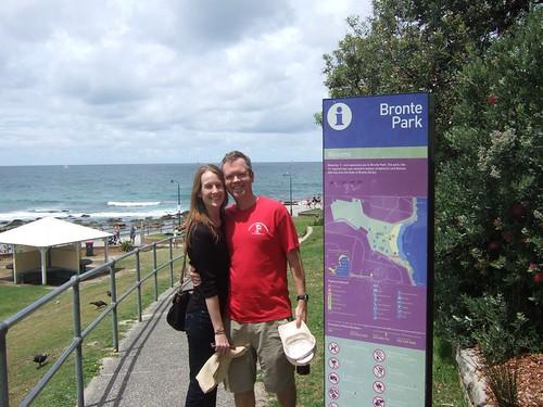 Dan, Julie, Bronte park