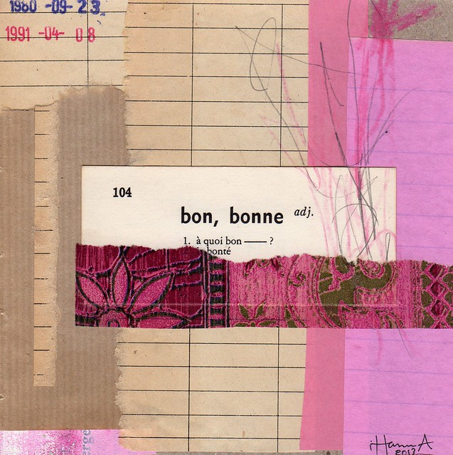 Collage: Bon (Copyright Hanna Andersson of www.ihanna.nu)