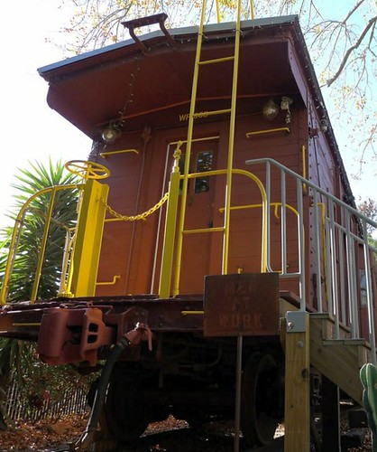 WP668 Caboose