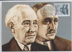 Germany Jewish Max Born & James Franck Nobel Prize Winners 783